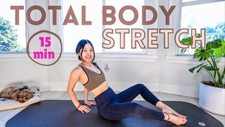 15 MIN TOTAL BODY STRETCH   Relax & Release Muscle Tension