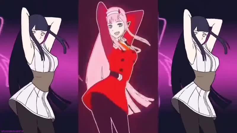 [ Zero Two x Sakurajima Mai x Hinata Dance ] Phut Hon Remix 抖音 Tiktok Douyin Music (Anime Ecchi)