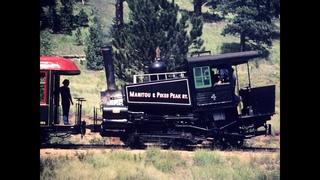 Pikes Peak By Rail (Cog Railroad in Colorado)