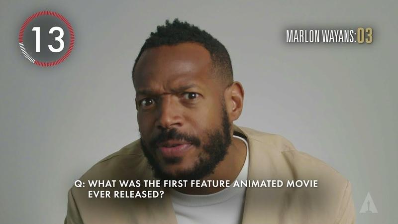 Marlon Wayans 90 Seconds Oscars Trivia