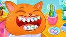 КОТИК БУБУ в САЛОНЕ КРАСОТЫ 125 Кид чистит и лечит зубы коту. Мультик про котов на пурумчата