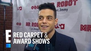 """Mr. Robot"" Cast Gushes Over Sam Esmail & Emmy Rossum's Wedding | E! Red Carpet & Award Shows"