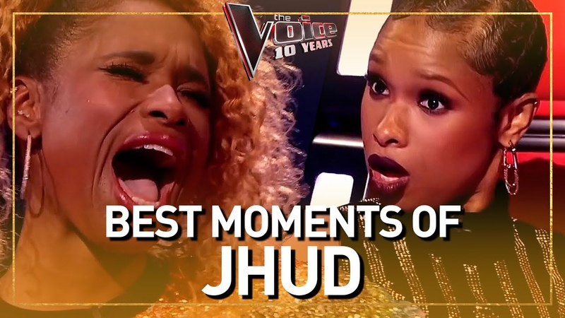 The Voice coach JENNIFER HUDSON blows everyone away with her voice