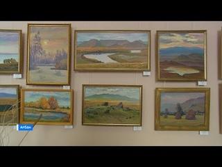 В Абакане открылась персональная выставка художника Леонида Канзычакова