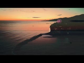пляж Чайка после заката