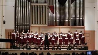 """Концертный хор """"Глория"""" (младшие классы). Певческие ассамблеи"""