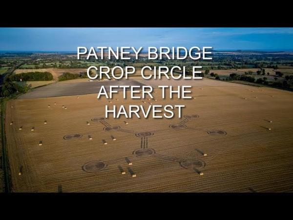 Patney Bridge Crop Circle After The Harvest
