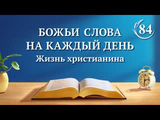 Божьи слова на каждый день   (отрывок 84)