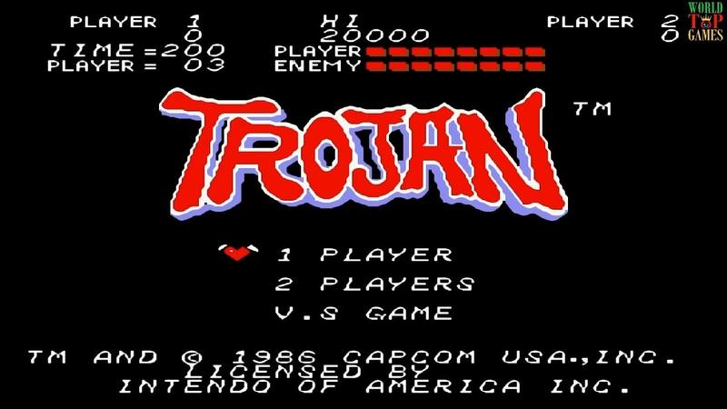 Trojan Троянец Денди Dendy NES Famicom Nintendo