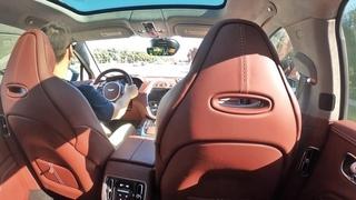 2021 Aston Martin DBX POV Ride (3D Audio)(ASMR)
