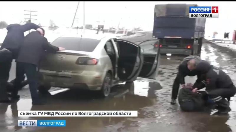 В Камышине задержаны воры барсеточники