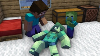 Monster School : Herobrine in Hospital - Sad Story with Happy End - Minecraft Animation