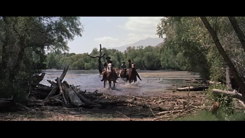 Рэндольф Скотт в фильме Стоянка команчей Вестерн США 1960