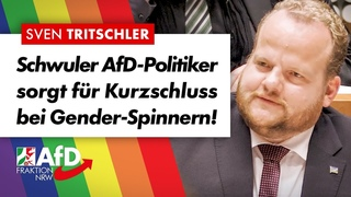 Schwuler AfD-Abgeordneter gegen Gender-Ideologen! – Sven Tritschler (AfD)