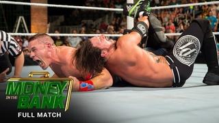 FULL MATCH - John Cena vs. AJ Styles: WWE Money in the Bank 2016