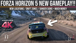 Forza Horizon 5 - NEW 4K Gameplay / Drift Zones / Danger Signs / Locations & MUCH MORE!!!