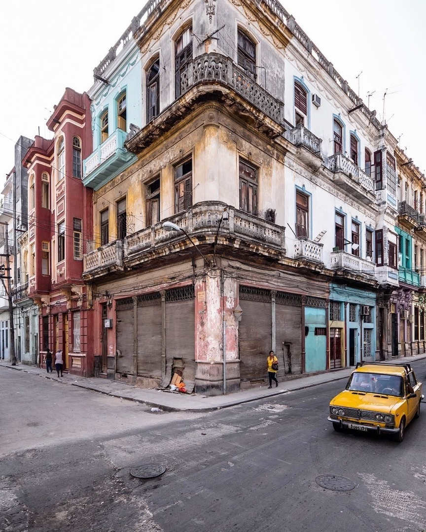 Фасады Гаваны, Куба