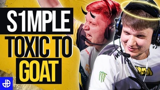 How s1mple went from toxic talent to CSGO's GOAT