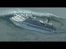 Круизный Лайнер в 12 бальный шторм. Cruise liner in 12 ball storm