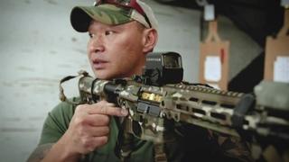 Rōnin talks over Combat Rifle Drills