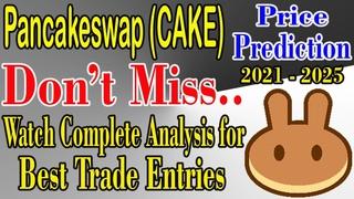 Cake price prediction    pancakeswap price prediction (2021)    pancake price prediction (hindi)