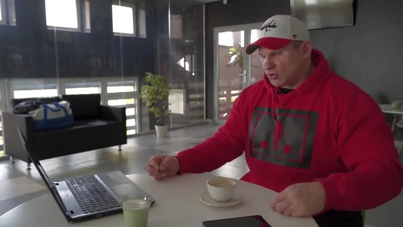 Дмитрий ГОЛУБОЧКИН Честно о дозировках капельницах и молодом Декстере Джексоне
