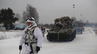 Десантирование из Ил-76 в рамках двустороннего учения с ивановским соединением ВДВ