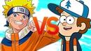 НАРУТО VS ГРАВИТИ ФОЛЗ СУПЕР РЭП БИТВА Naruto АНИМЕ ПРОТИВ Gravity Falls RAP BATTLE