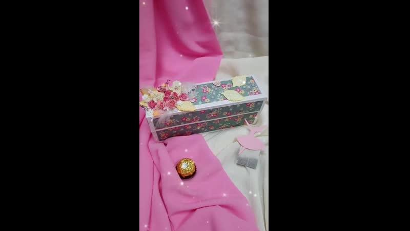 Обзор чайная коробочка Балерина