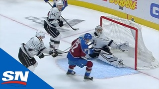 Joonas Donskoi Shows Amazing Hand-Eye To Bat The Puck Out Of Mid-Air For Goal