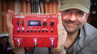 The Boss RC-500 Looper In Action