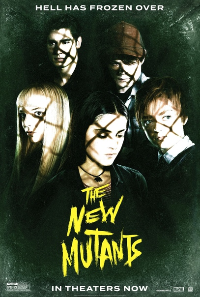 Очередной командный постер «Новых мутантов»