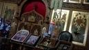 02.WP.Andrej Bukreev. Церковь Успения Пресвятой Богородицы. Множество удивительных икон, восхитительные росписи на стенах и потолке, огромные паник...