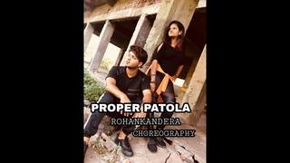 Proper Patola Dance Cover | Namaste England | Rohan Kandera  | Arjun | Badshah