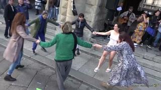 """""""Danser encore"""" FLASHMOB Bologna (Danzare ancora - Italian) - La Banda Della Liberazione 15-05-2021"""