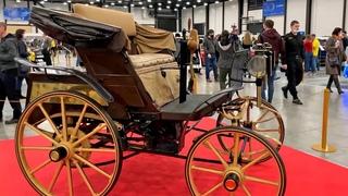 Первый российский автомобиль (ретро). Как выглядит легендарный автомобиль Яковлева и Фрезе – реплика