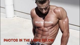Teen Fitness Muscle Model Mitch Costa Gym Pump Styrke Studio