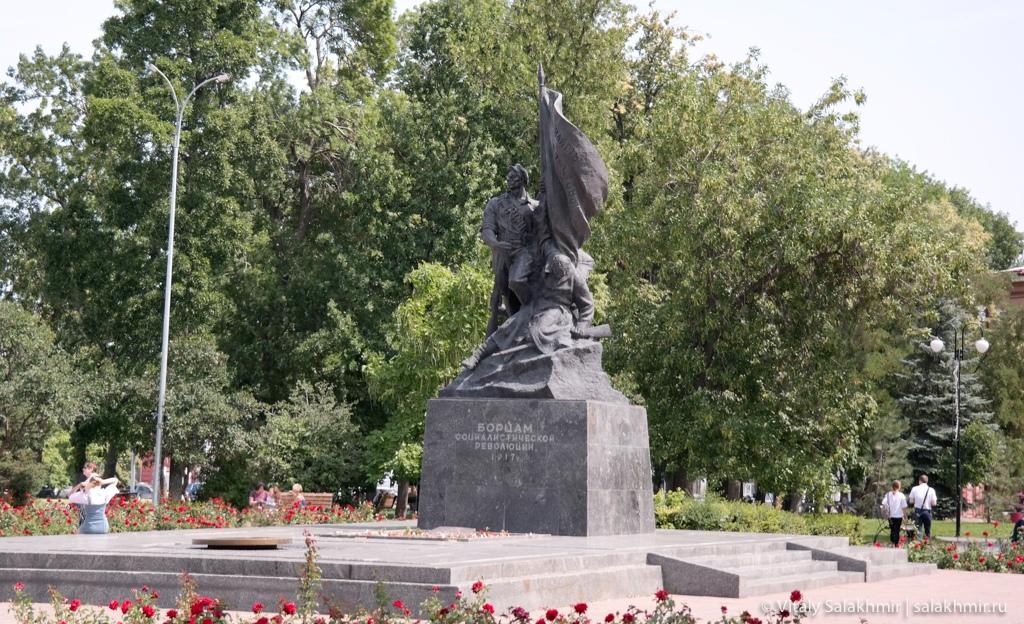 Памятник борцам соцреволюции, Саратов 2020
