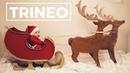 IDEAS PARA NAVIDAD: Trineo Tirado Por Renos | Tutorial Creativo