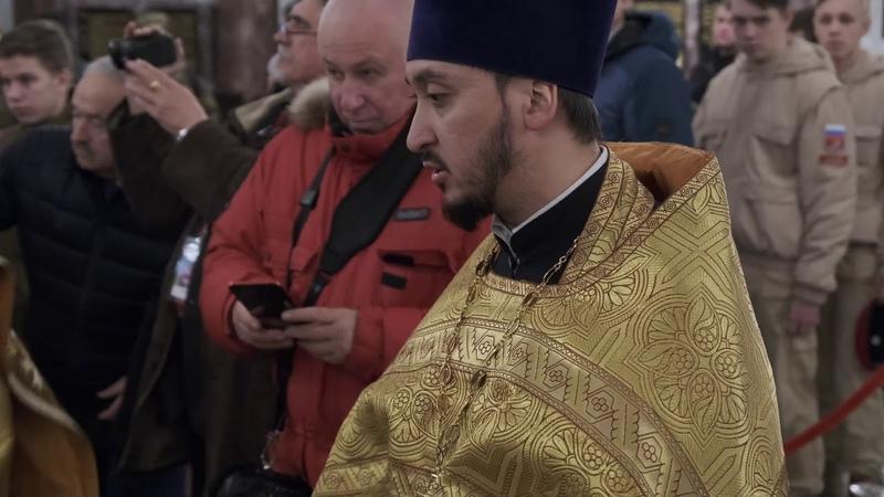 Морское братство нерушимо 2019 Морской Храм в Кронштадте Вице адмирал Повалишин Панихида