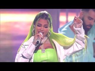 """Natti Natasha Feat. Nio Garcia & Brray - Phillicieto (""""En Vivo"""" Premios Juventud)"""