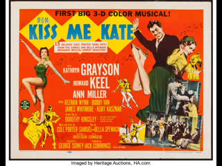 Kiss Me Kate (1953)  Kathryn Grayson, Howard Keel, Ann Miller
