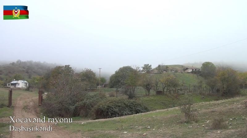 Xocavənd rayonunun işğaldan azad olunan Daşbaşı kəndindən videoreportaj