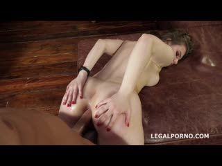 Legal Porno - Janny Bunny Fox welcome to Porn with Balls Deep Anal, Manhandle, Gapes and Cum in the Mouth