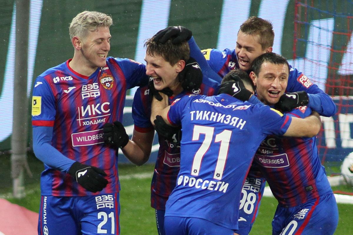 ЦСКА - Динамо, 3:1