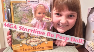 MGA Entertainment Storytime Collection Classics Little Bo Peep Doll - Unboxing & Review