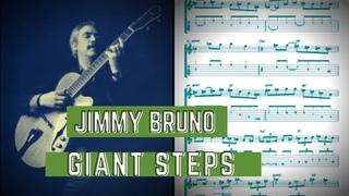 Jimmy Bruno - Giant Steps (Guitar Transcription)