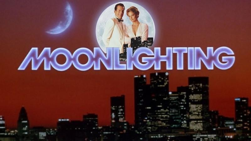 Заставка к сериалу Детективное агентство Лунный свет Детективы на полставки Moonlighting