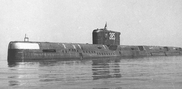 Гвардейская атомная подводная лодка «К-56»