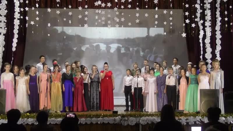 Битва хоров на иностранных языках Красный Чикой